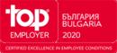 лого топ емплойър България 2020