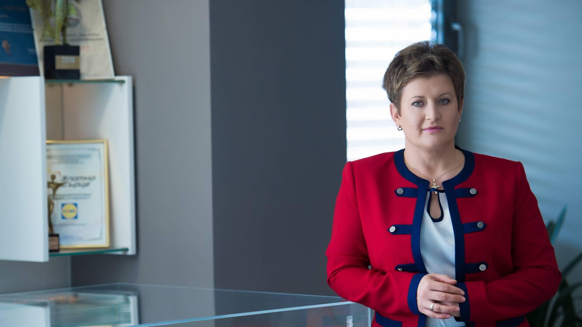 Милена Драгийска главен изпълнителен директор Лидл България офис